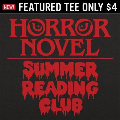 6 Dollar Shirts: Horror Novel Summer Reading Club
