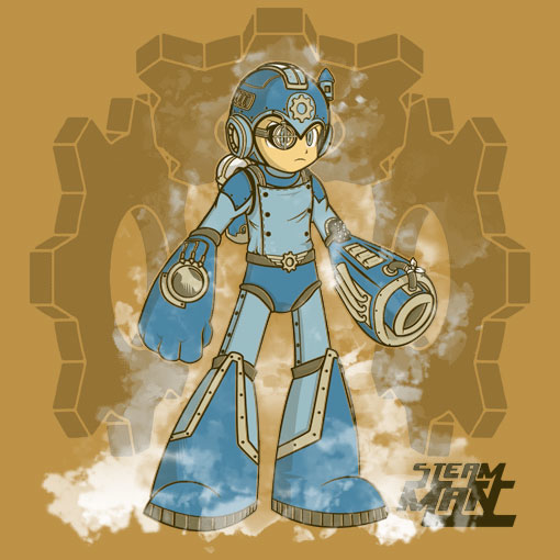TeeFizz: Steam Man