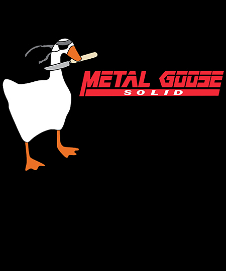 Qwertee: Solid Goose