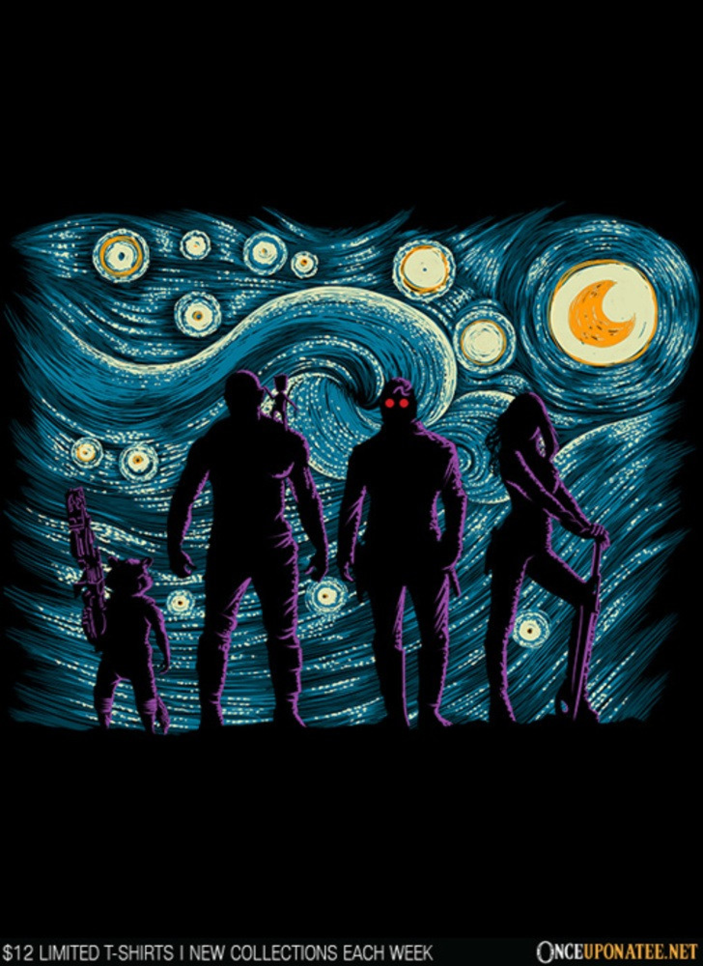 Once Upon a Tee: Starry Galaxy