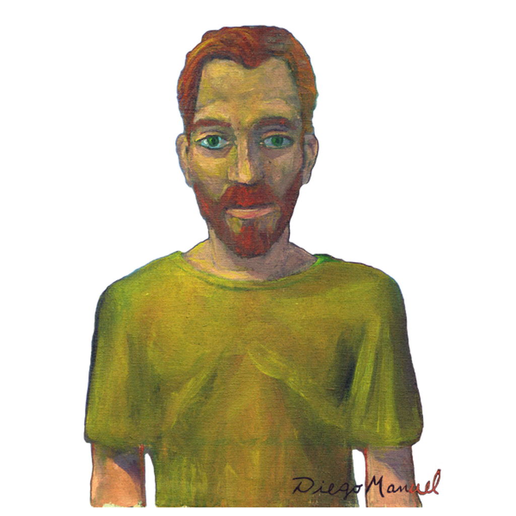 NeatoShop: Vincent van Gogh portrait C