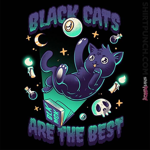 ShirtPunch: Black Cats Are The Best