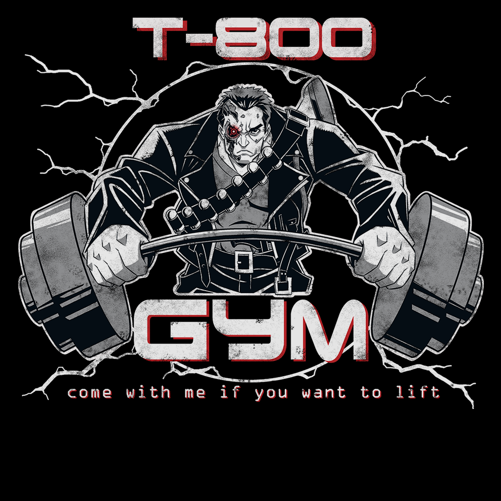 Pop-Up Tee: T-800 Gym