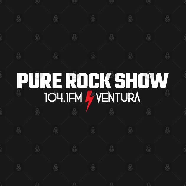 TeePublic: Pure Rock Show Ventura California