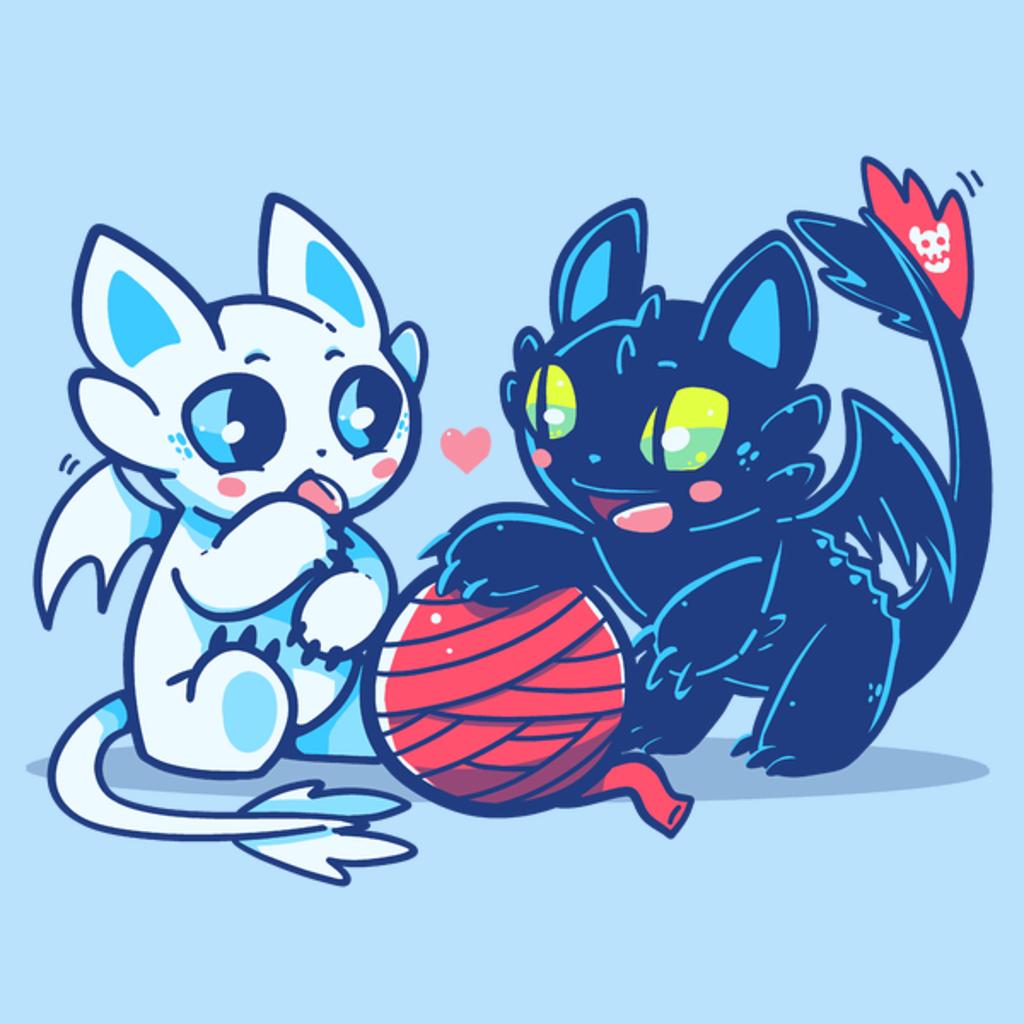 NeatoShop: Light and Night Dragon Cats
