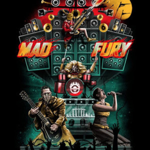 Once Upon a Tee: Mad Fury: Concert Tour