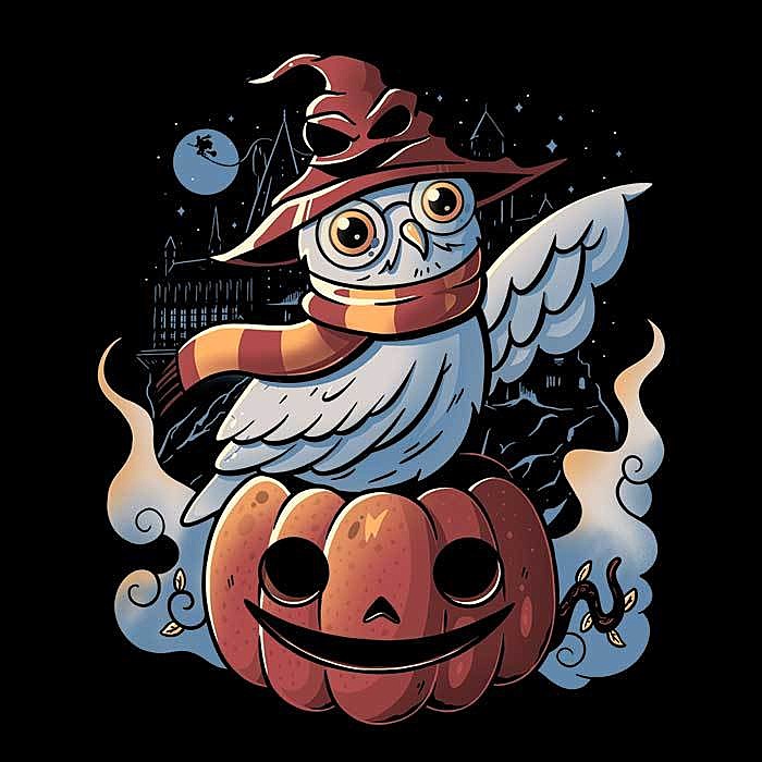 Once Upon a Tee: Spooky Magic - Women's Apparel