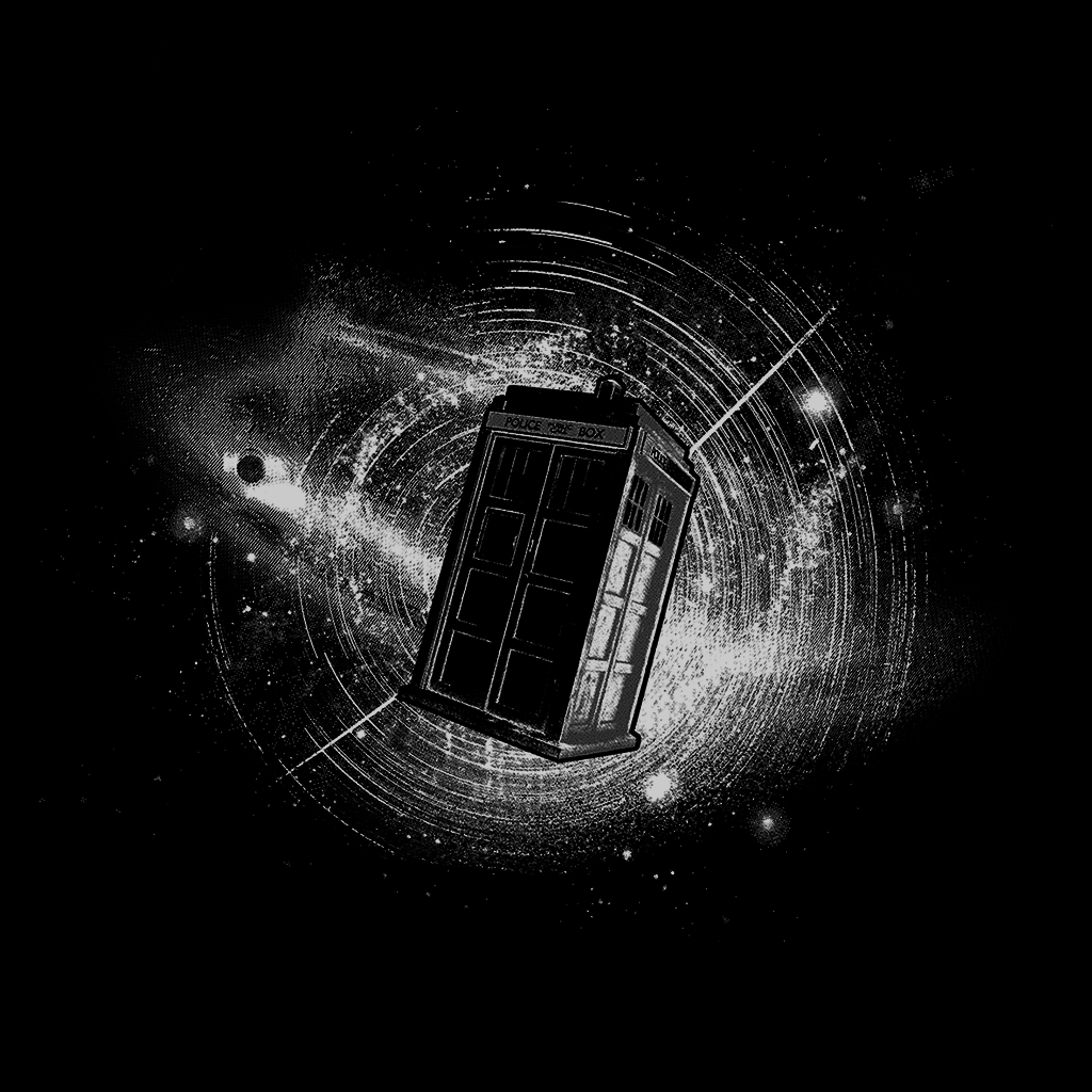 Pop-Up Tee: Tardis