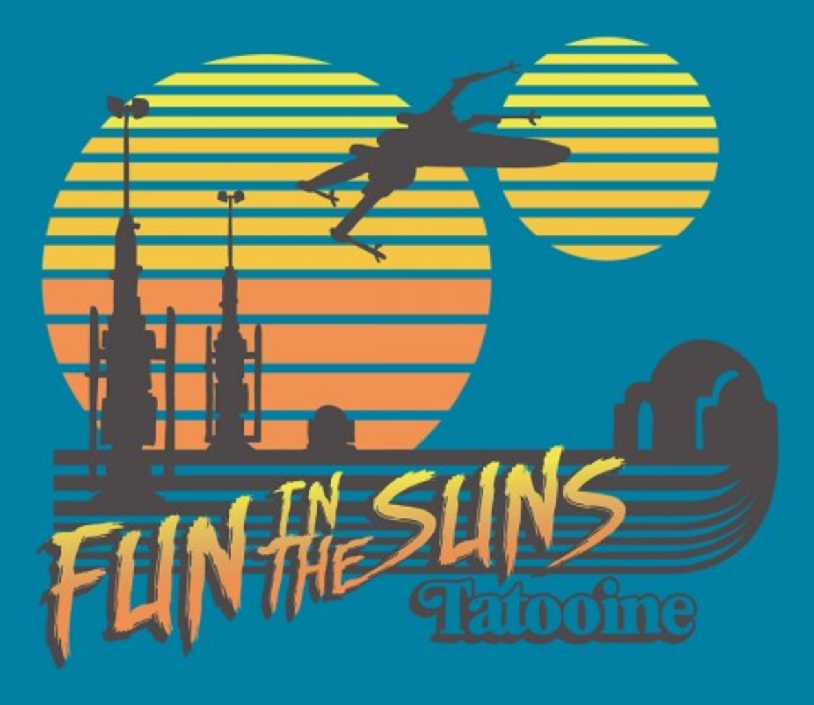 TeeFury: Fun in the Suns