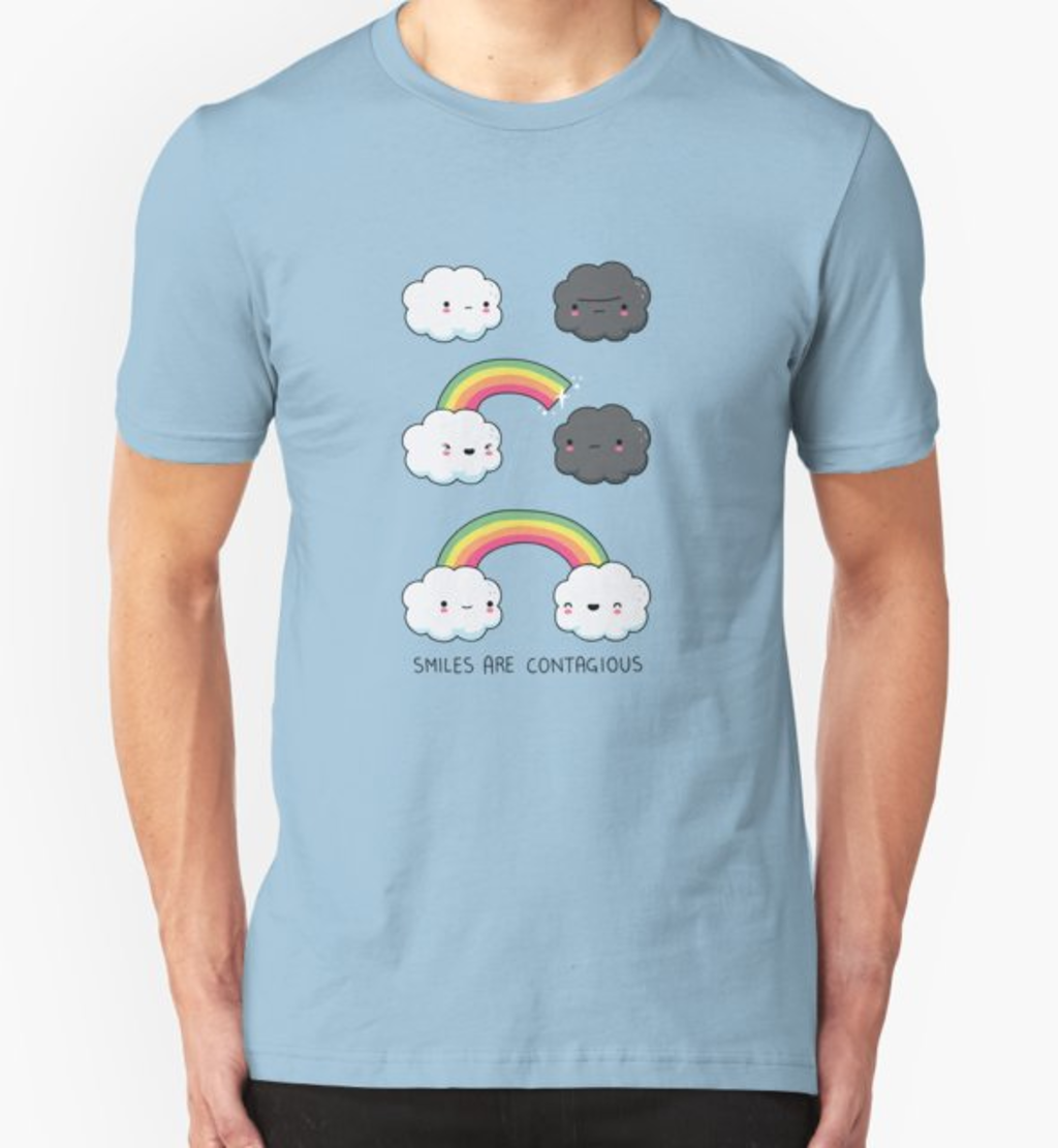 RedBubble: Smiles are contagious