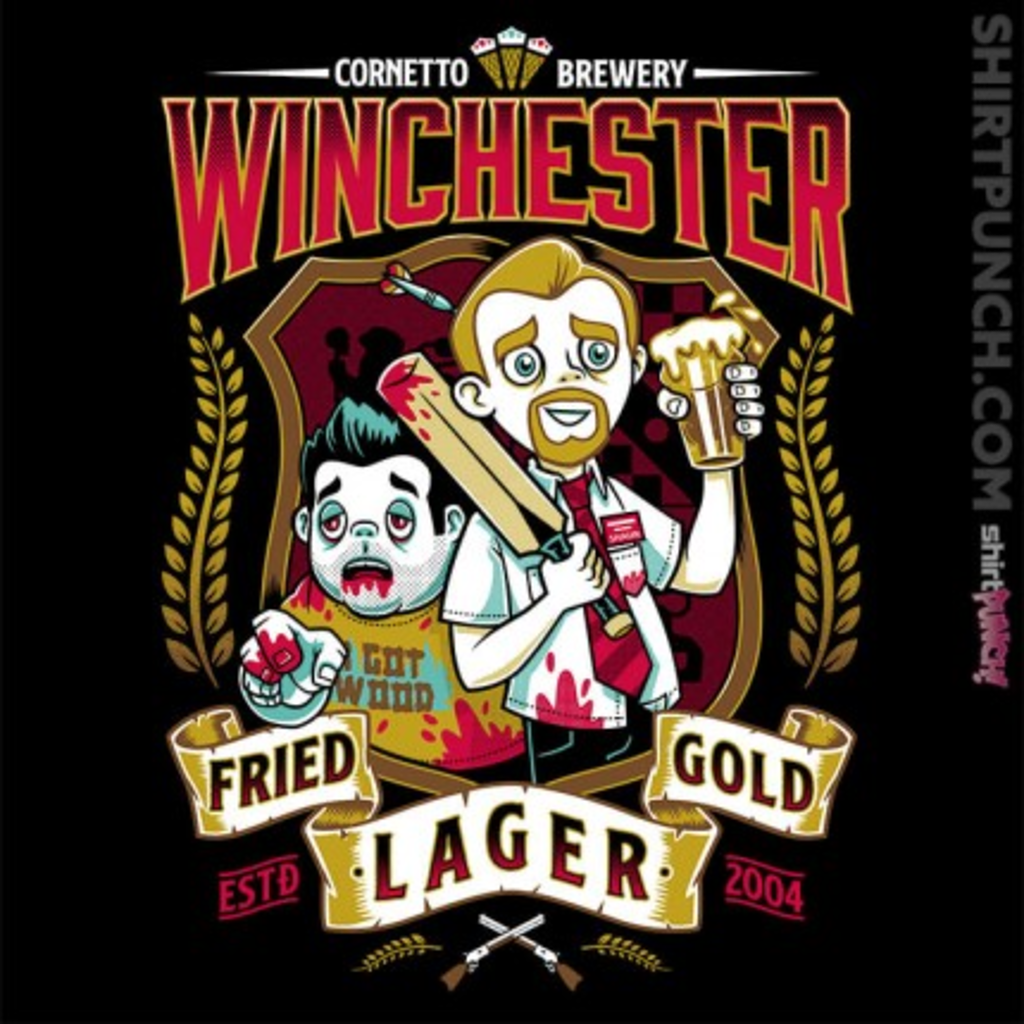 ShirtPunch: Fried Gold Lager