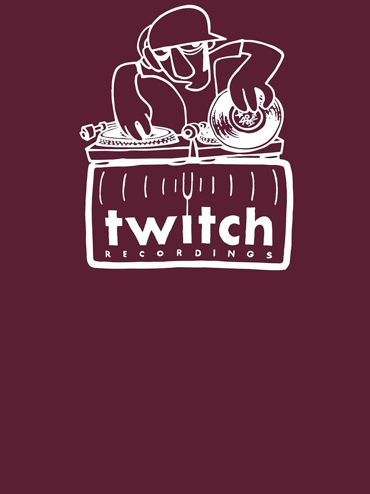 RedBubble: Twitch T-Shirt Art (White for dark shirts)