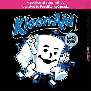 ShirtPunch: Kleen-Aid