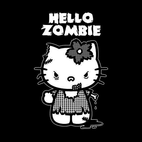 Five Finger Tees: Hello Zombie T-Shirt