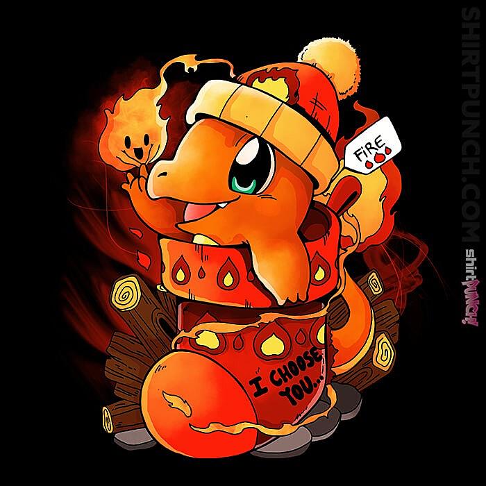 ShirtPunch: Fire Type Christmas