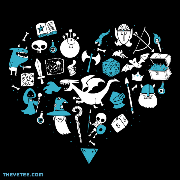 The Yetee: I love gaming
