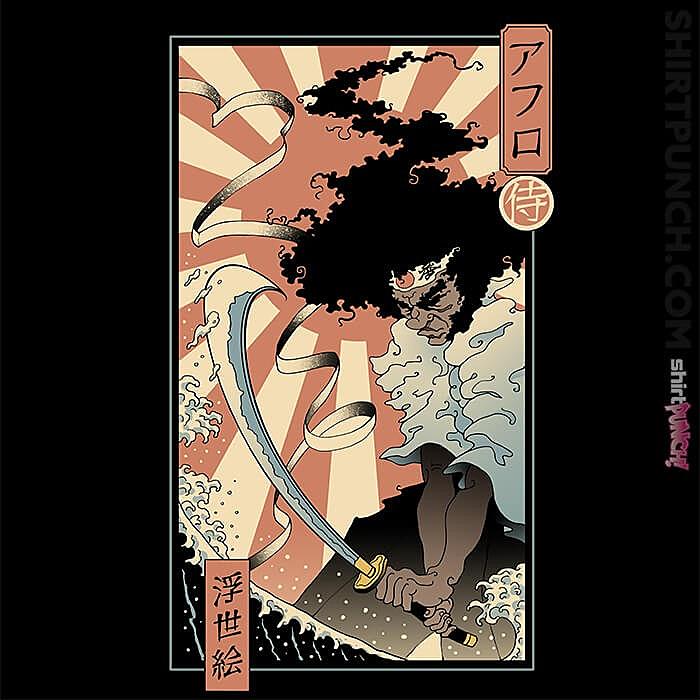 ShirtPunch: Afro Ukiyo-e