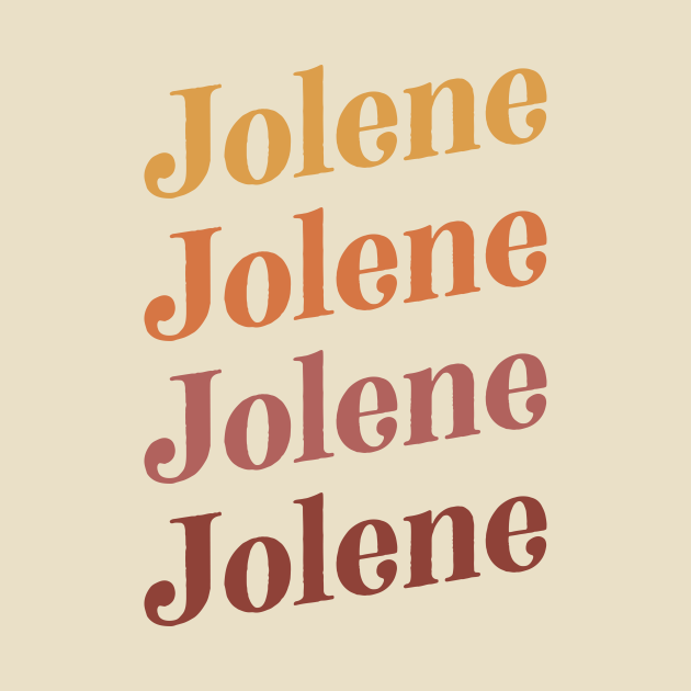 TeePublic: Jolene Retro Earth Toned Boho Design