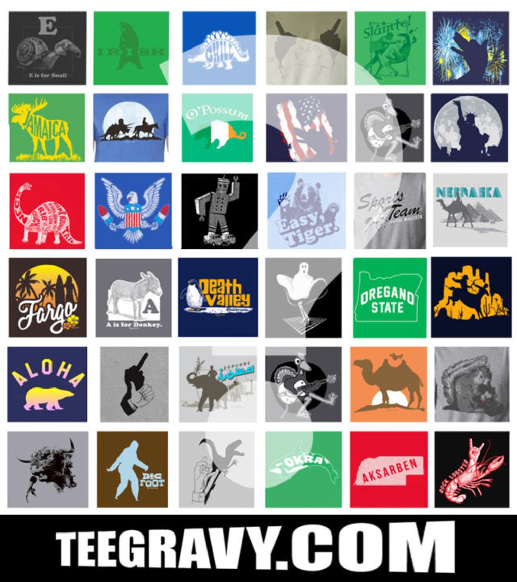 Tee Gravy: CYBER MONDAY GRAB BAG BONANZA