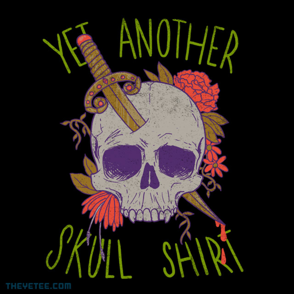 The Yetee: Yet Another Skull Shirt