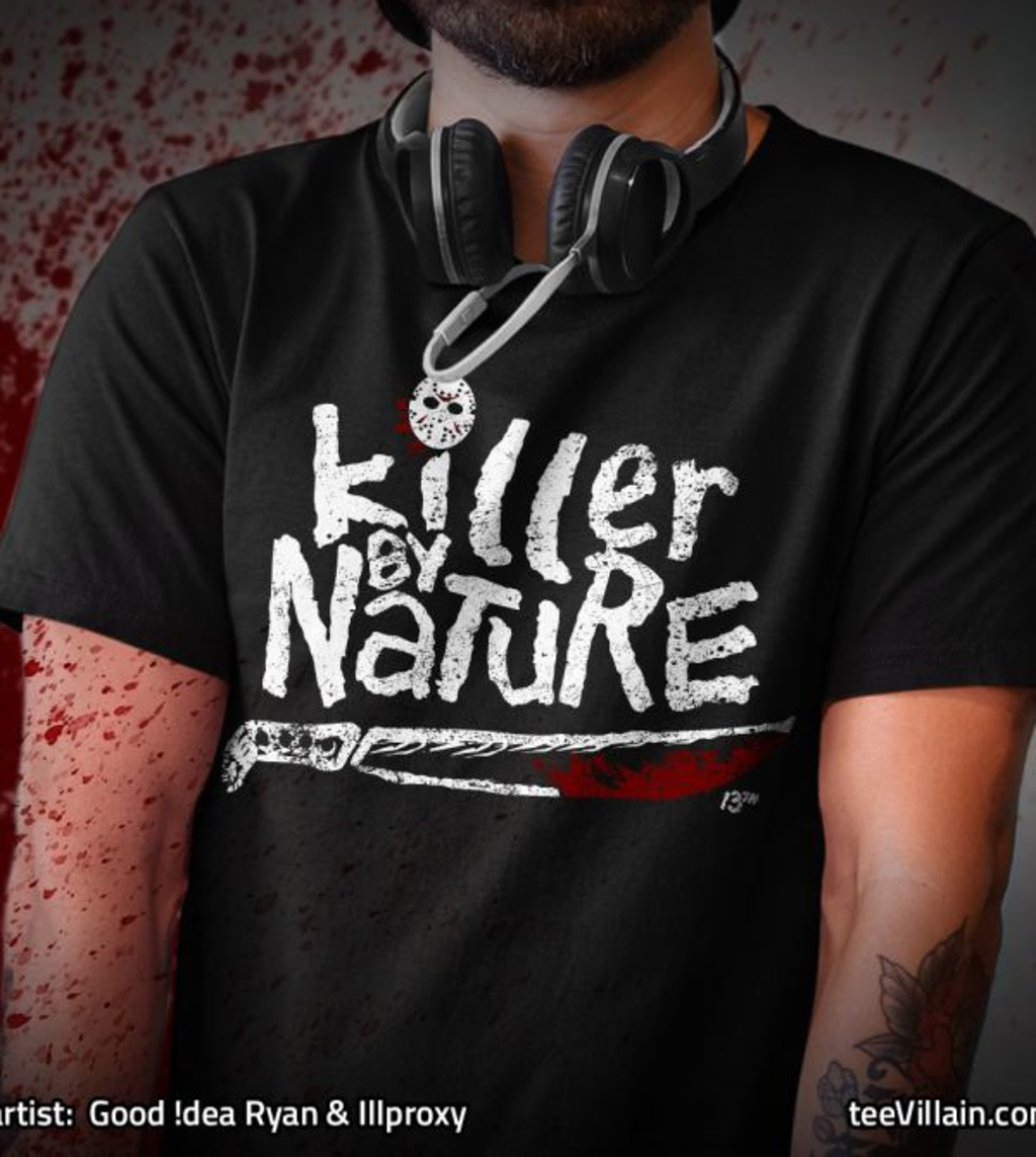 teeVillain: Killer By Nature
