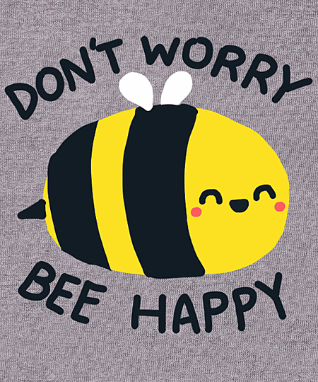 Qwertee: Bee Happy
