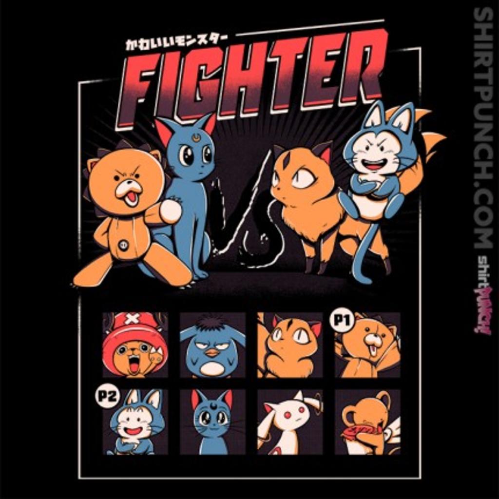 ShirtPunch: Anime Fight