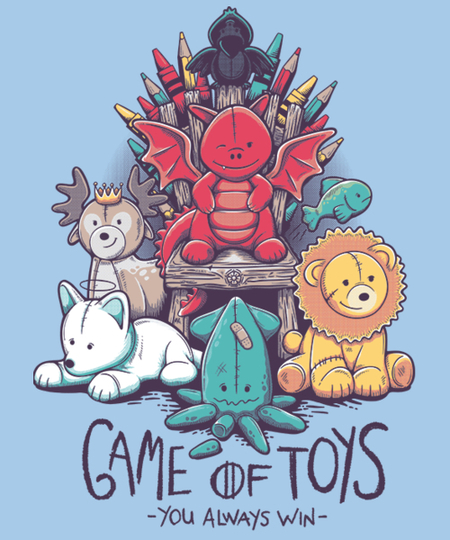 Qwertee: Game of Toys