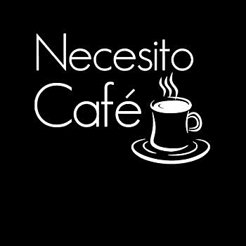 BustedTees: Necesito Cafe Funny Coffee Lovers - Hoodie