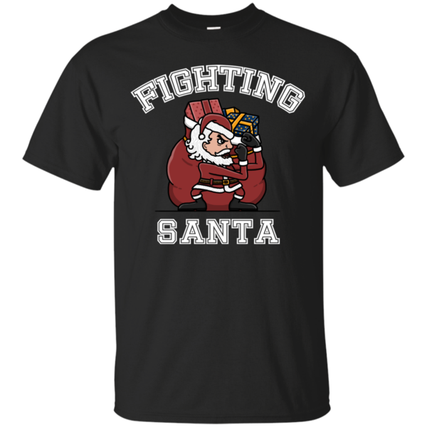 Pop-Up Tee: Fighting Santa