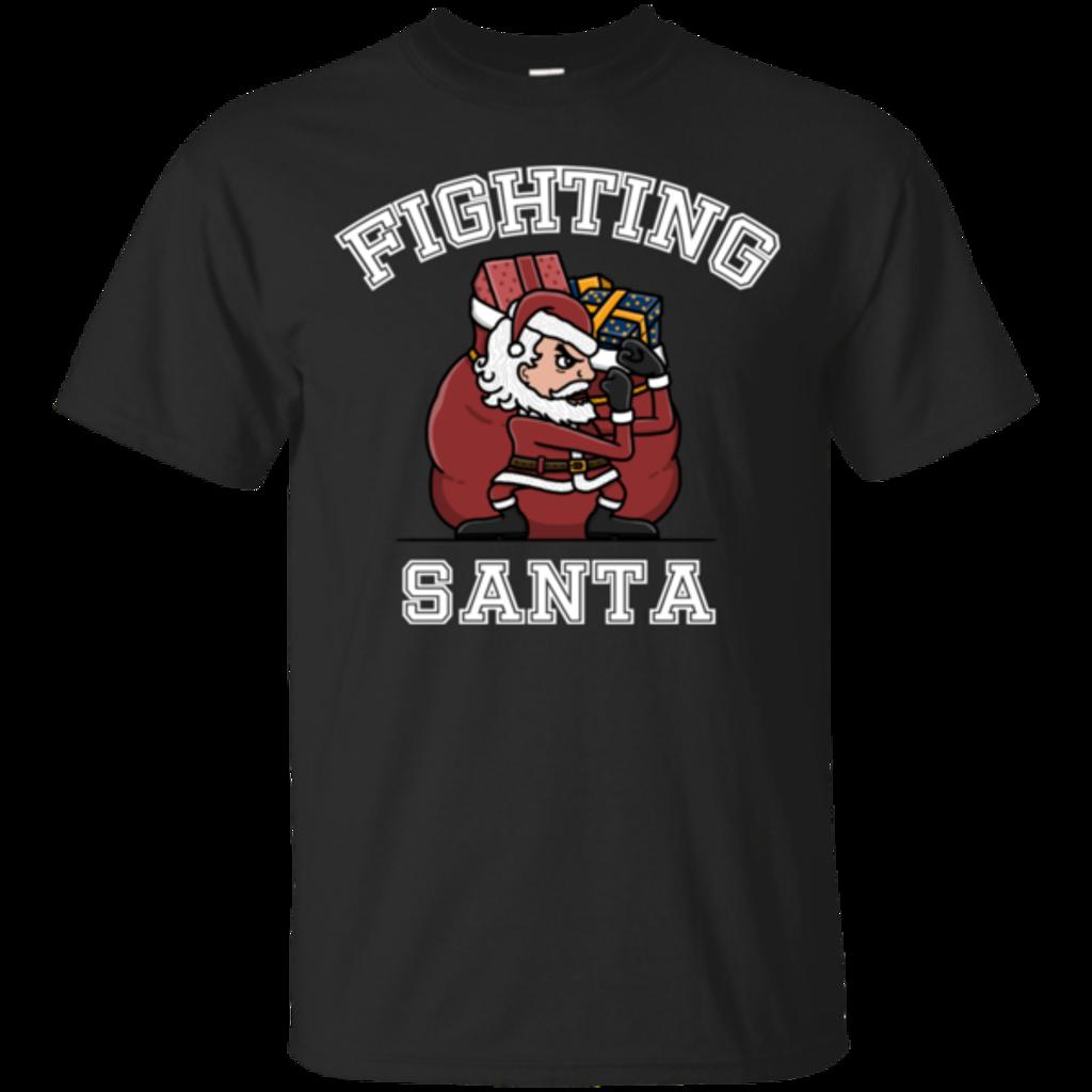 Pop-Up Tee: Fighting Santa