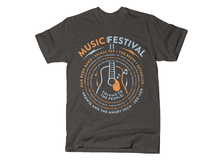SnorgTees: Music Festival