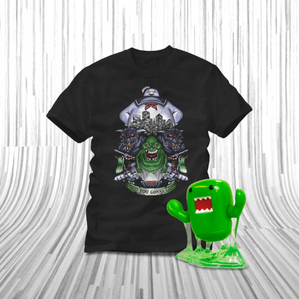 ShirtPunch: Domo Slimer Bundle!