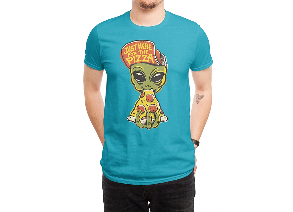 Threadless: Just Here For Pizza