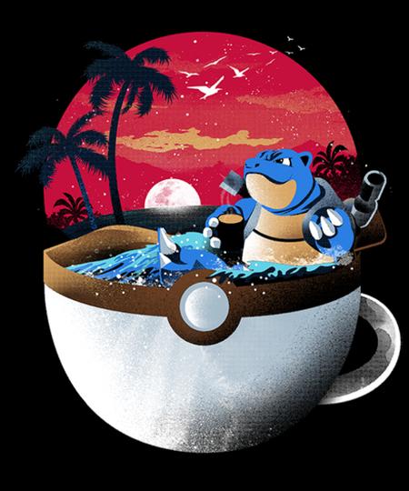Qwertee: Coffeemon Water