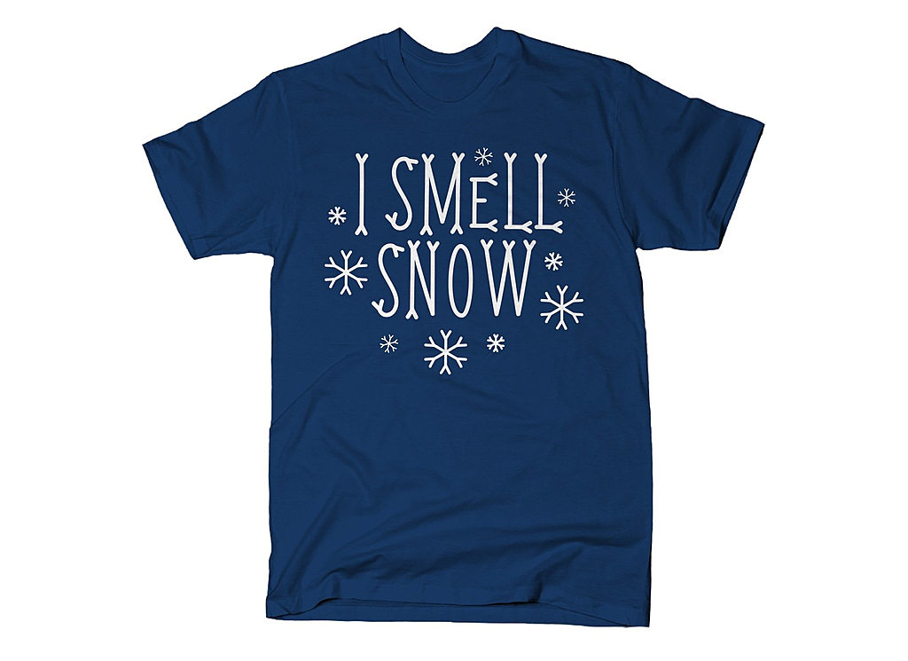 SnorgTees: I Smell Snow