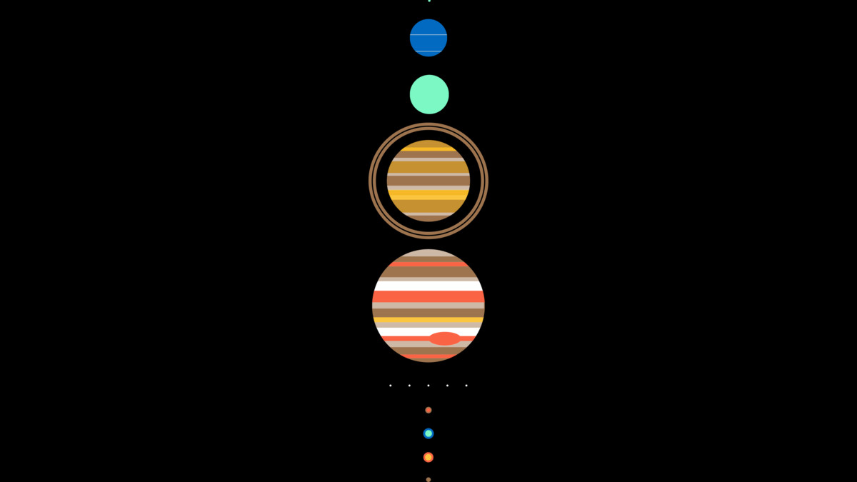 Design by Humans: Minimal Solar System