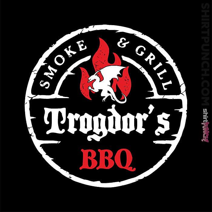 ShirtPunch: Trogdor's BBQ