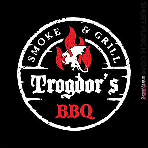 ShirtPunch: Trogdor's BBQ