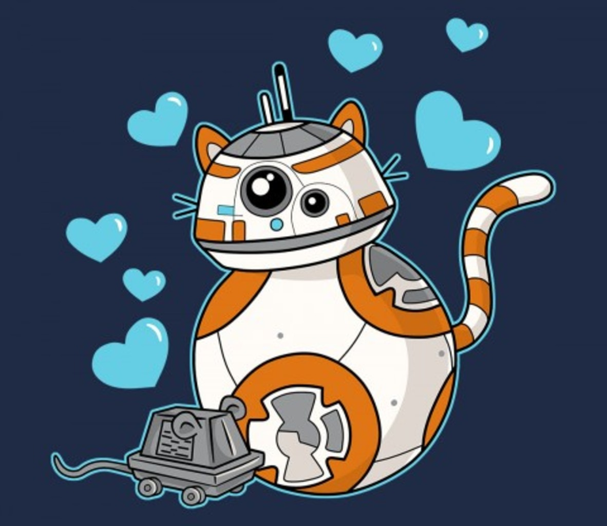 TeeFury: Cat and Mouse Droid