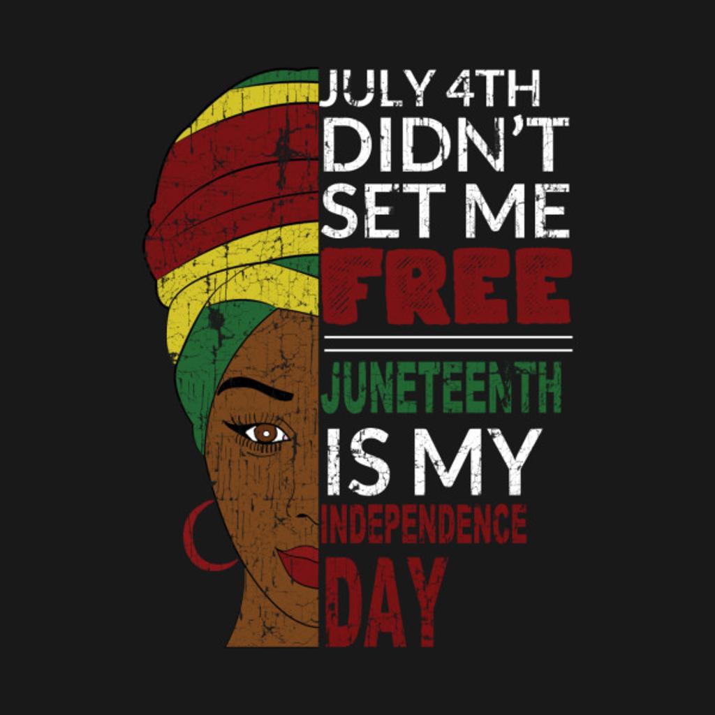 TeePublic: Juneteenth Afrocentric Celebration