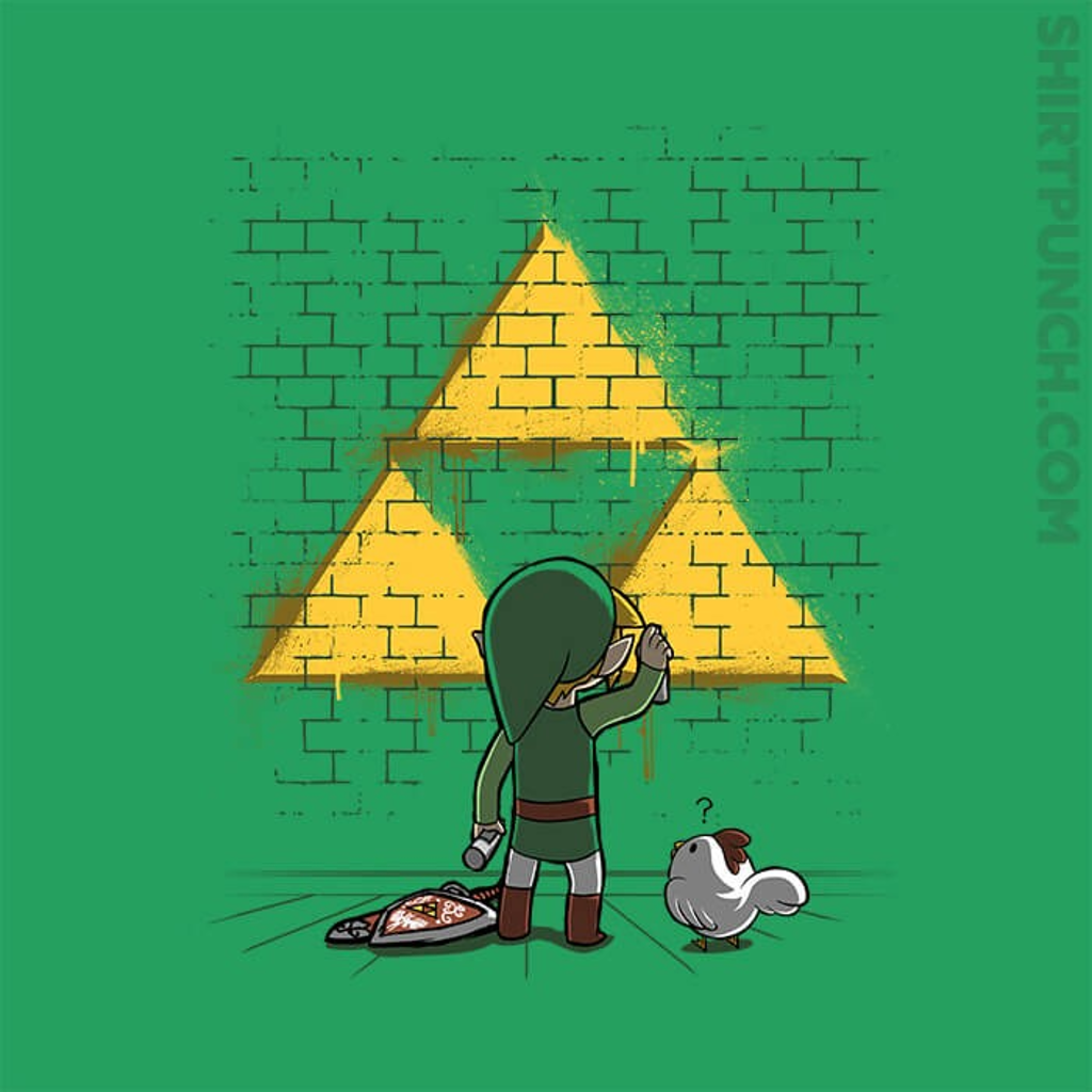 ShirtPunch: Tri-Force Graffiti