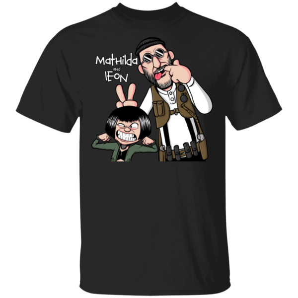 Pop-Up Tee: Mathilda & Leon