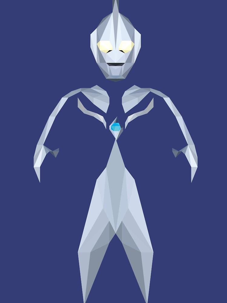 RedBubble: Ultraman Cosmos (Luna Mode)