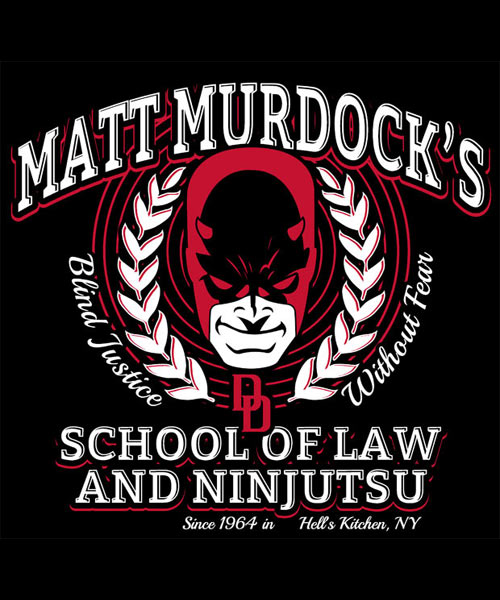 EnTeeTee: Matt Murdock's School of Law and Ninjutsu
