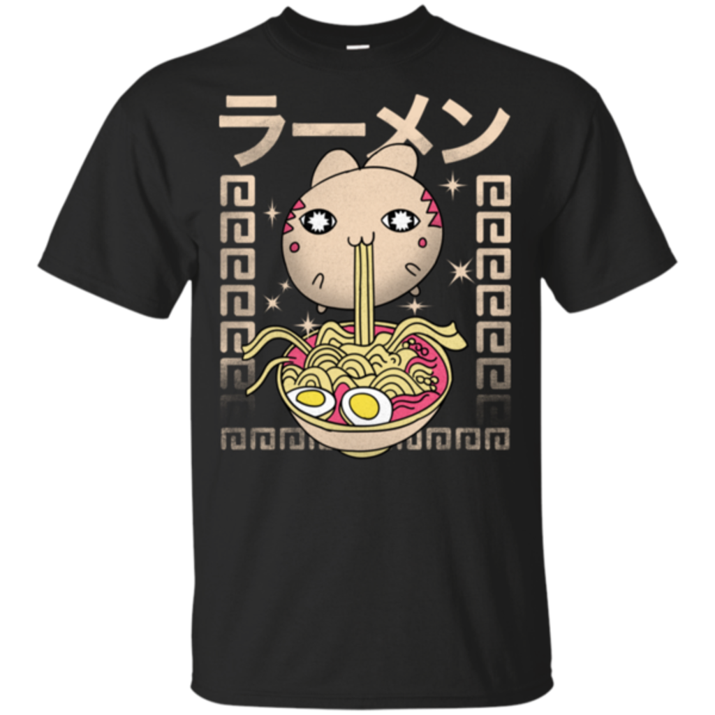 Pop-Up Tee: Hungry Cat