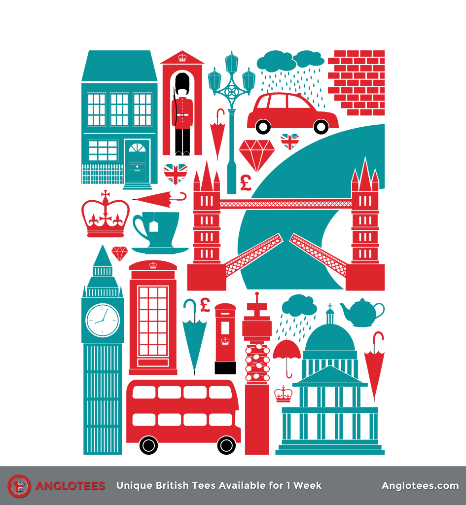 Anglotees: Autumn in London