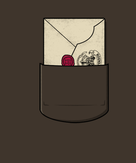 Qwertee: A letter from Hogwarts!