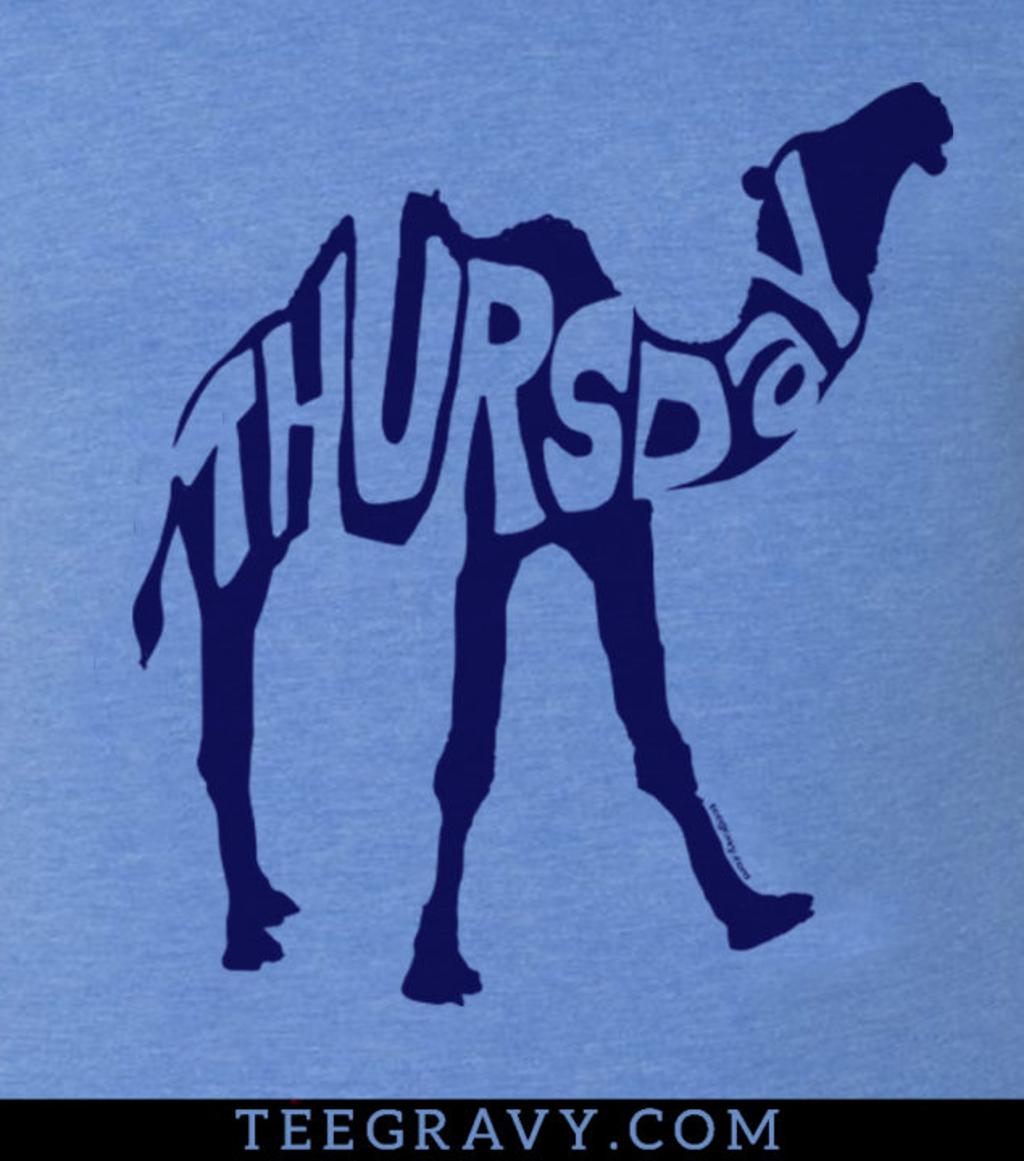 Tee Gravy: Thursday is the new Wednesday