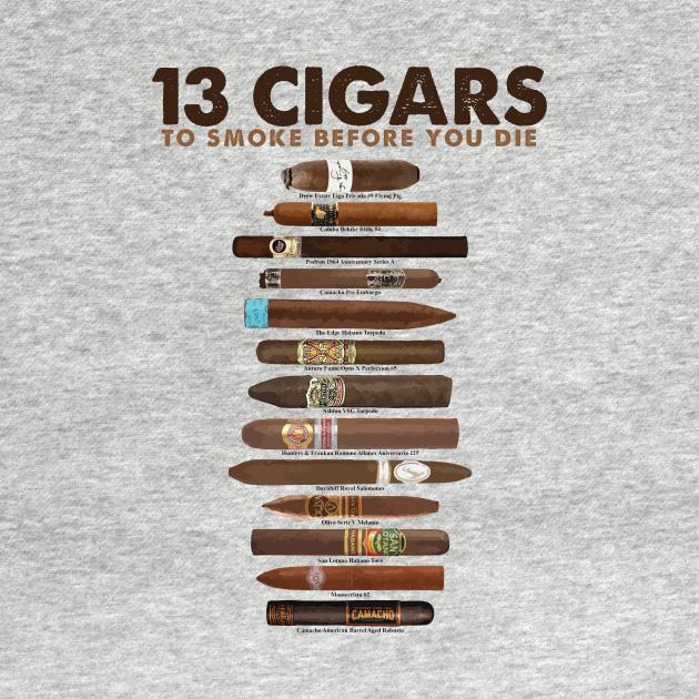 TeePublic: Cigars To Smoke Before You Die